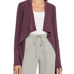 BCBG purple cardigan
